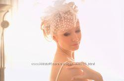 Вуалетка от дизайнера Oksana Mukha, цвет айвори, возможен прокат