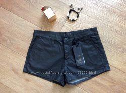 Итальянские шорты Einstein, коттон, чёрные, размер S