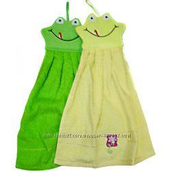 Полотенце детское, махровое - Жабка