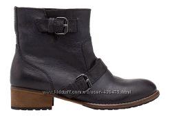 Стильные ботинки Pull&Bear  р. 36  натуральная кожа