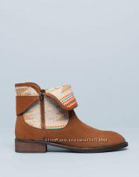 Ботинки Pull&Bear натуральная замша