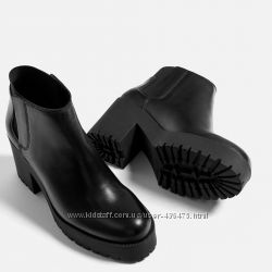 Ботинки ZARA р. 40-25, 5 см натуральная кожа