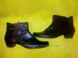 Чёрные ботинки TAMARIS, натуральная кожа, р. 44, 45