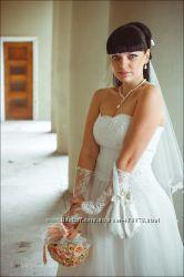 Свадебное платье рост 162-170