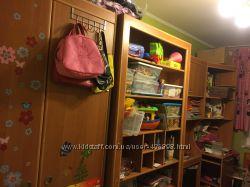Детская многофункциональная стенка с кроватью в детскую