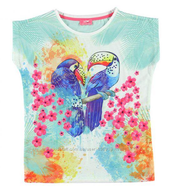 футболки для девочек LC WAIKIKI , для юных леди