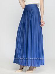 плиссированная юбка LC WAIKIKI синего цвета, размер L-X
