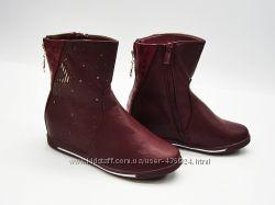 Красивые демисезонные сапожки  и ботинки для девочки 36р, 37р.