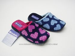 Красивенькие тапочки для девочек ТМ Inblu в наличии с 20 по 30р.