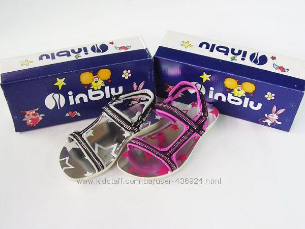 Удобные босоножки для девочки ТМ Inblu с 29 по 34 размер