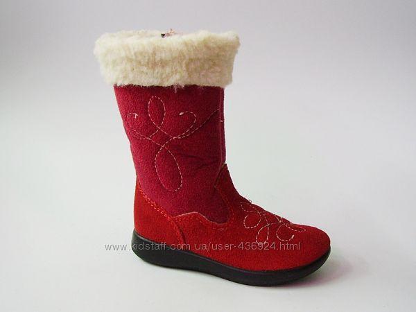 Красивые сапожки для деток осень-зима ТМ Инблу Inblu в наличии