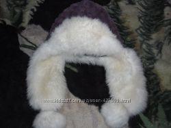 меховая шапка состояние идеальное