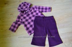 Флисовый костюмчик фирмы George 9-12 мес  куртка
