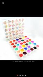 Цветные гели для ногтей . Качество отличное