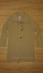 вязаное пальто стиль 98см 3 года palomino