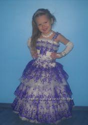 Детское вечернее платье, прокат