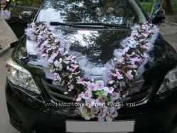 Прокат украшения на машину Орхидеи, Киев