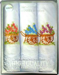Женский носовой платок Fazzoletto HighQuality