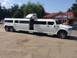 Мега хаммер лимузин с летником в Белой Церкве, лимузин Фастов, лимузин Сквыра