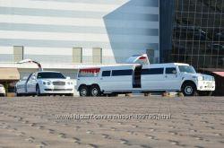 Аренда лимузина Мега хаммер с летником в Ровно