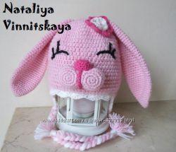 Стильные шапочки для Вашего любимого малыша крючком Made with love and care