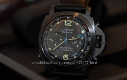 Panerai  Luminor Rattrapante Gold Black
