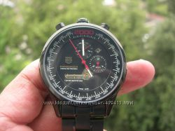 TAG HEUER MIKROGIRDER 2000 BLACK DIAL-RED