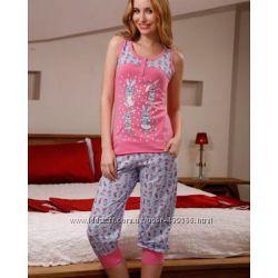 Женские пижамы, комплекты для дома. Футболка  штаны, майка  шорты и др.