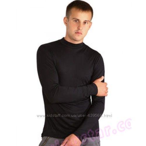 Мужская футболка, водолазка, гольф, реглан. Стрейч, хлопок. Польша. Украина