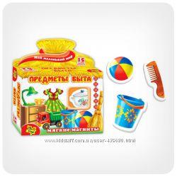Развивающие игры Vladi Toys для детей - мягкие магниты на любой вкус