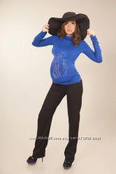 брюки для беременных осень