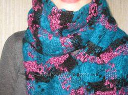 тёплый красивый шарф