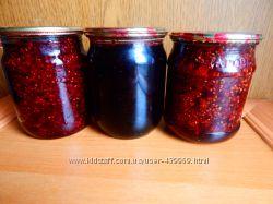 Варенье   из земляники, клубники, малины, смородины, черники в наличии.
