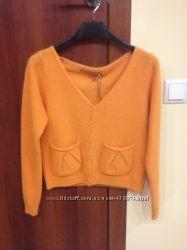 Оранжевый свитер из ангоры Silvian Heach, размер М