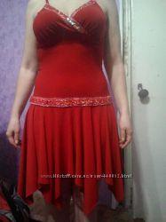 Нарядный сарафан-платье