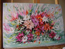 картина маслом Феєрія 40х60