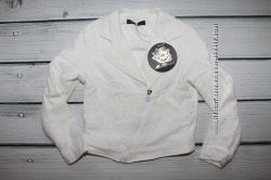 Куртка белая кружевная Blumarine
