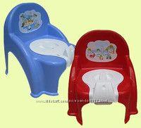 Консенсус Горшок детский кресло с крышкой в ассорт.
