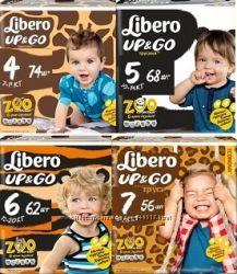 подгузники и трусики Libero либеро