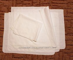 Хлопковые салфетки для рукоделия, уроков труда 38х49см