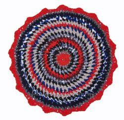 Красивый коврик ручной работы Прованс для детской или спальни