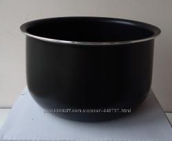 Чаша для мультиварки 4л, толстостенная для PHILIPS, DEX, DELFA, SCARLETT и