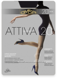 Колготки Omsa Attiva 40 den, Omsa Attiva 20 den.