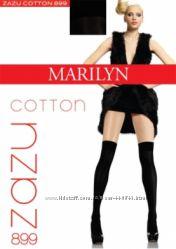 Гольфы выше колена, гетры - ботфорты из хлопка Marilyn Zazu Cotton 899 .