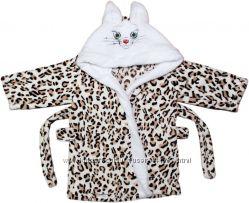 детский халатик  для маленьких котиков.