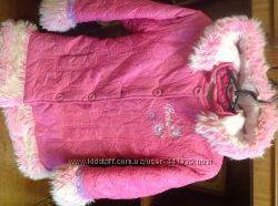 Barbie стильное яркое пальто