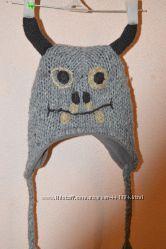 Теплые шапки- звери на 3-4, 5-6,  9 лет.