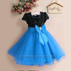 Нарядное модное выпускное вечернее новогоднее  платье для девочки