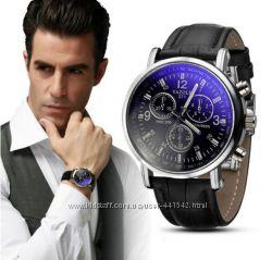 Часы мужские аналоговые классические модные кожа