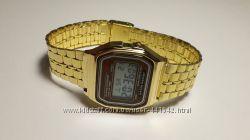 Электронные часы Casio illuminator gold classic копия в наличии